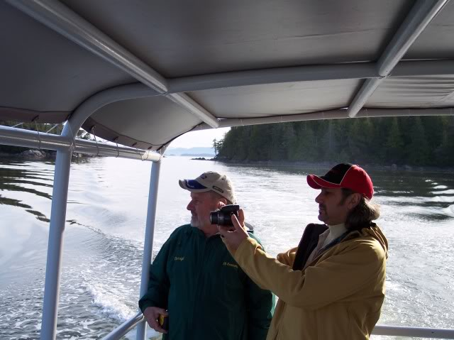 Ok let's get to some fishing , next day and a water taxi ride to Stephens Island, coming through the pass.