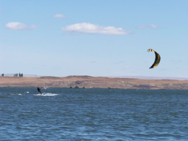It is good for kite boarding