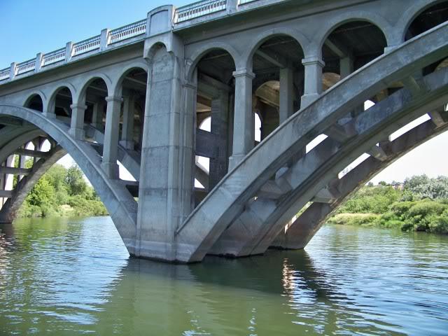 Bridge over the Umatilla River