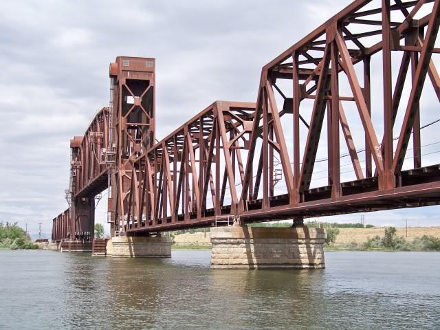 Railroad Bridge over the Snake