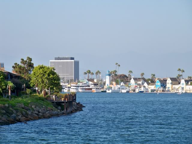 Inlet to the marina