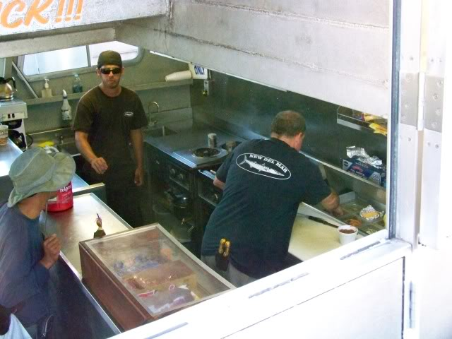 The Galley; Hot grill, snacks, cold soft drinks & beer, life is good