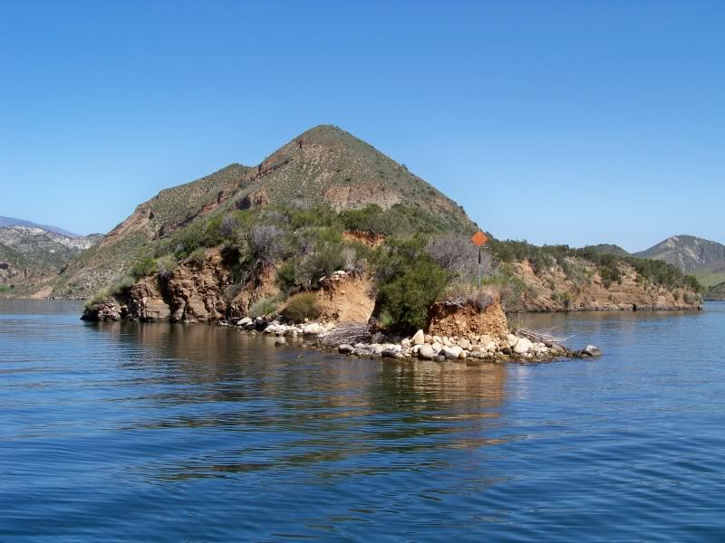 Most anglers pass right by Castaic before they begin the steep highway incline up the mountains to reach Pyramid.