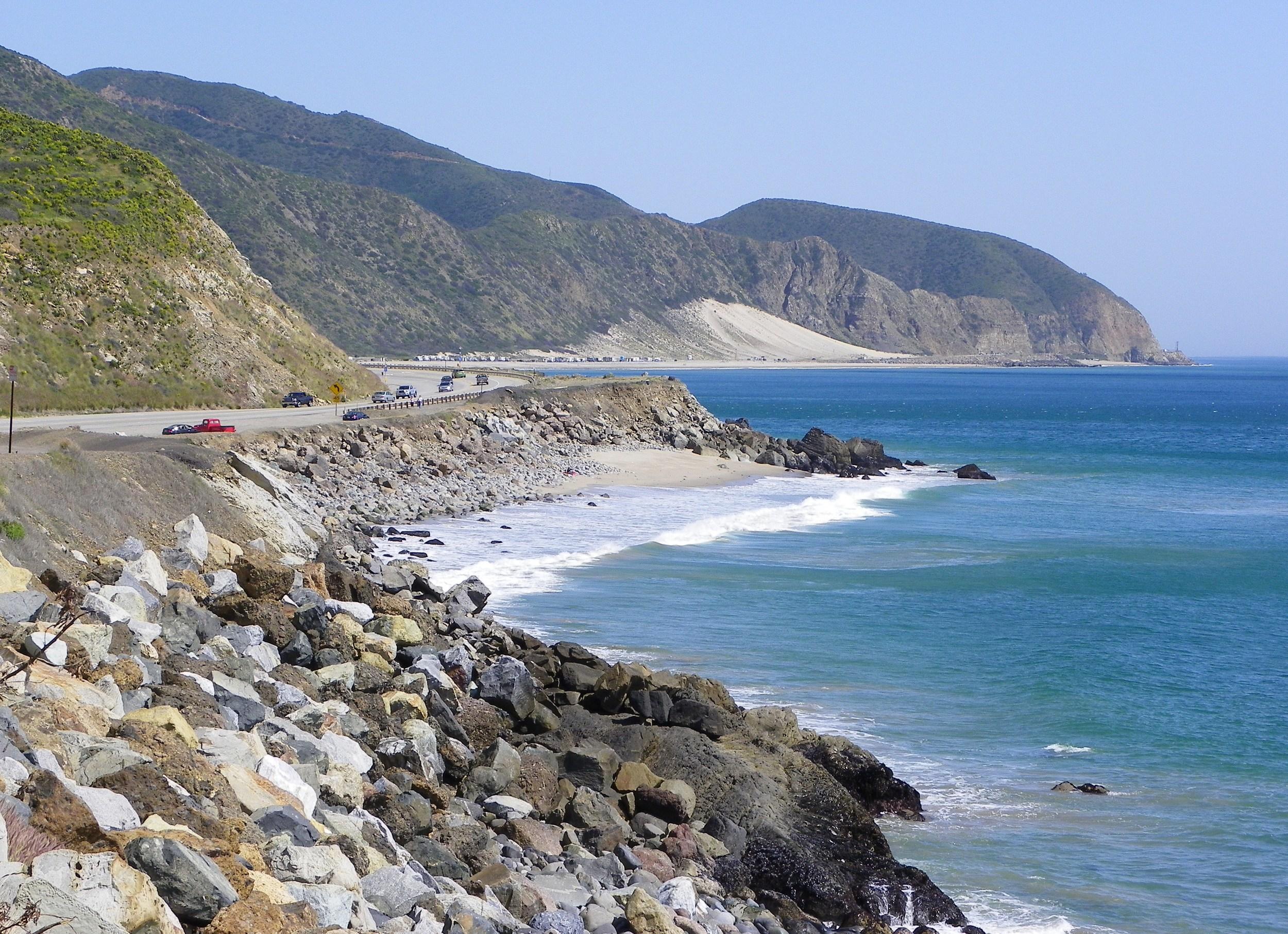 Ventura County Coastline Just South of Pt. Mugu