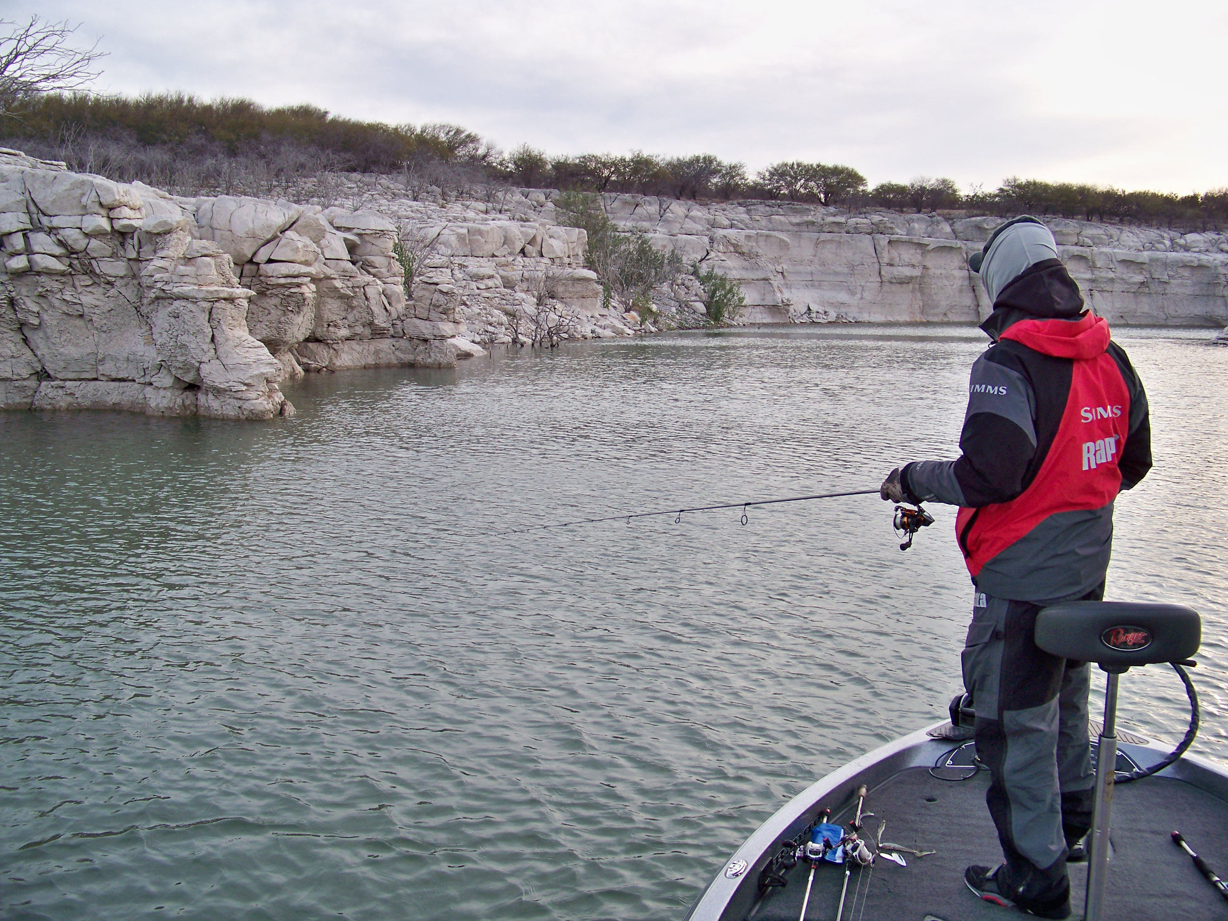 Rapala Pro Troy Lindner Pre-fishing the Devils River