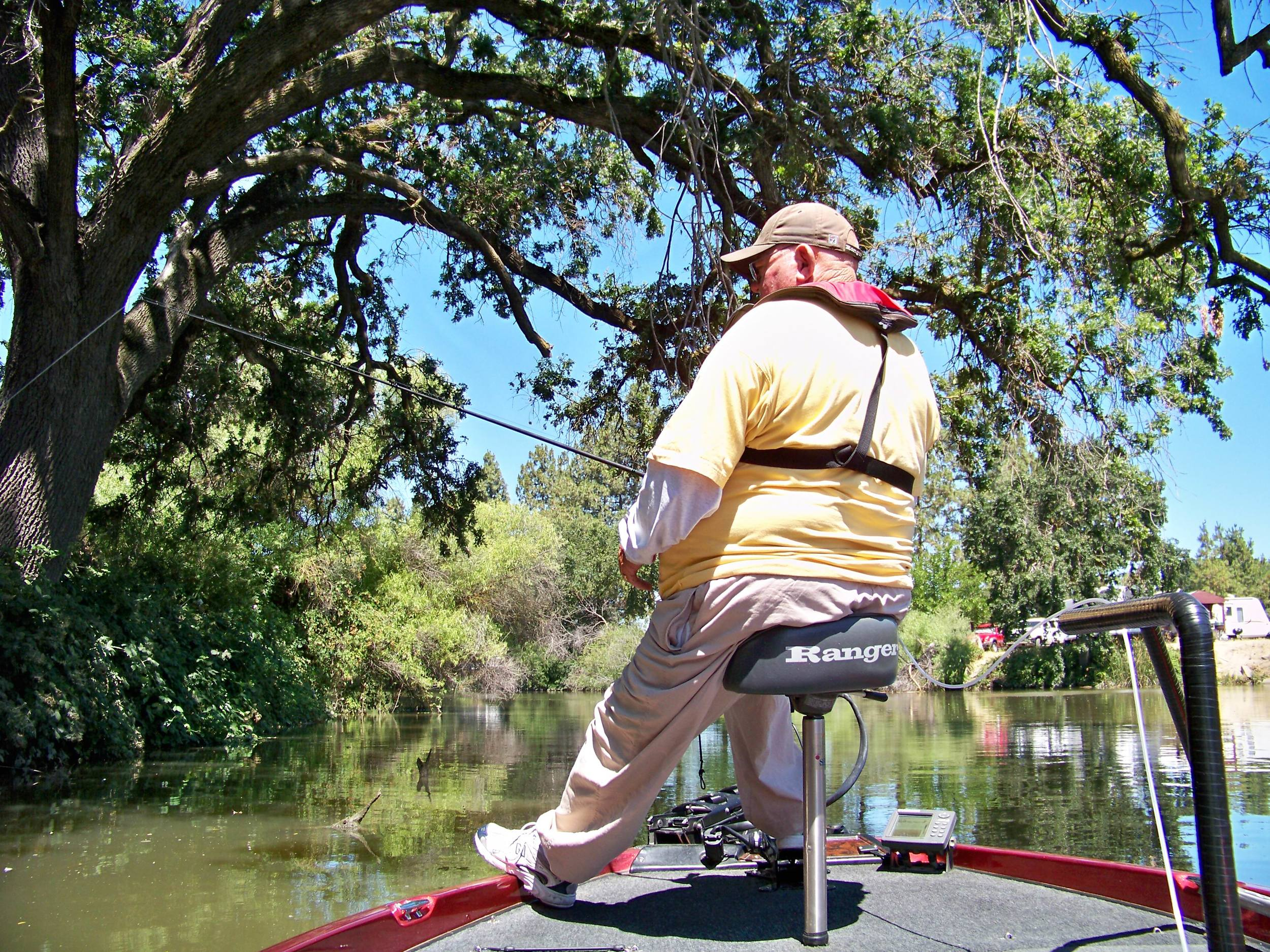 The Delta is also home to a legend; the father of flipping Dee Thomas fishing the Old River