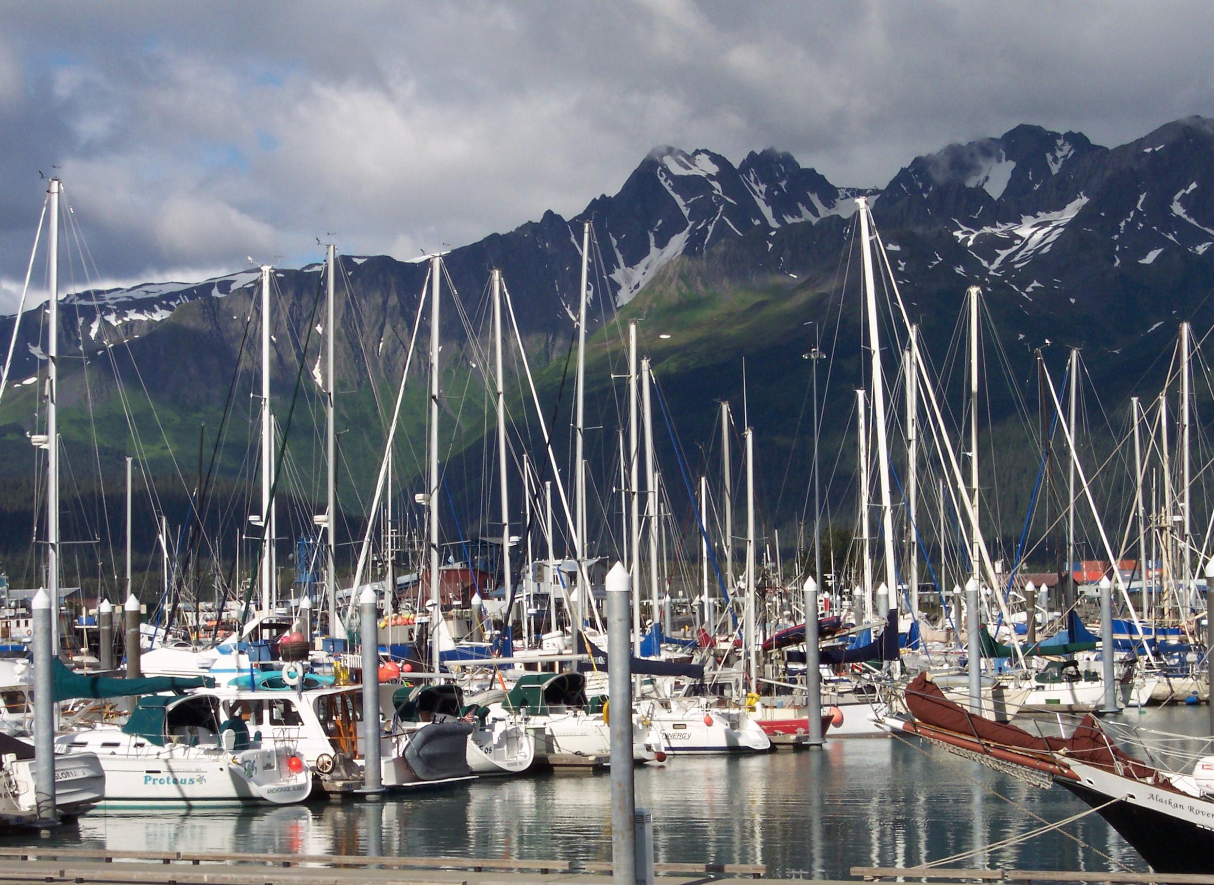 Resurrection Bay Seward Alaska