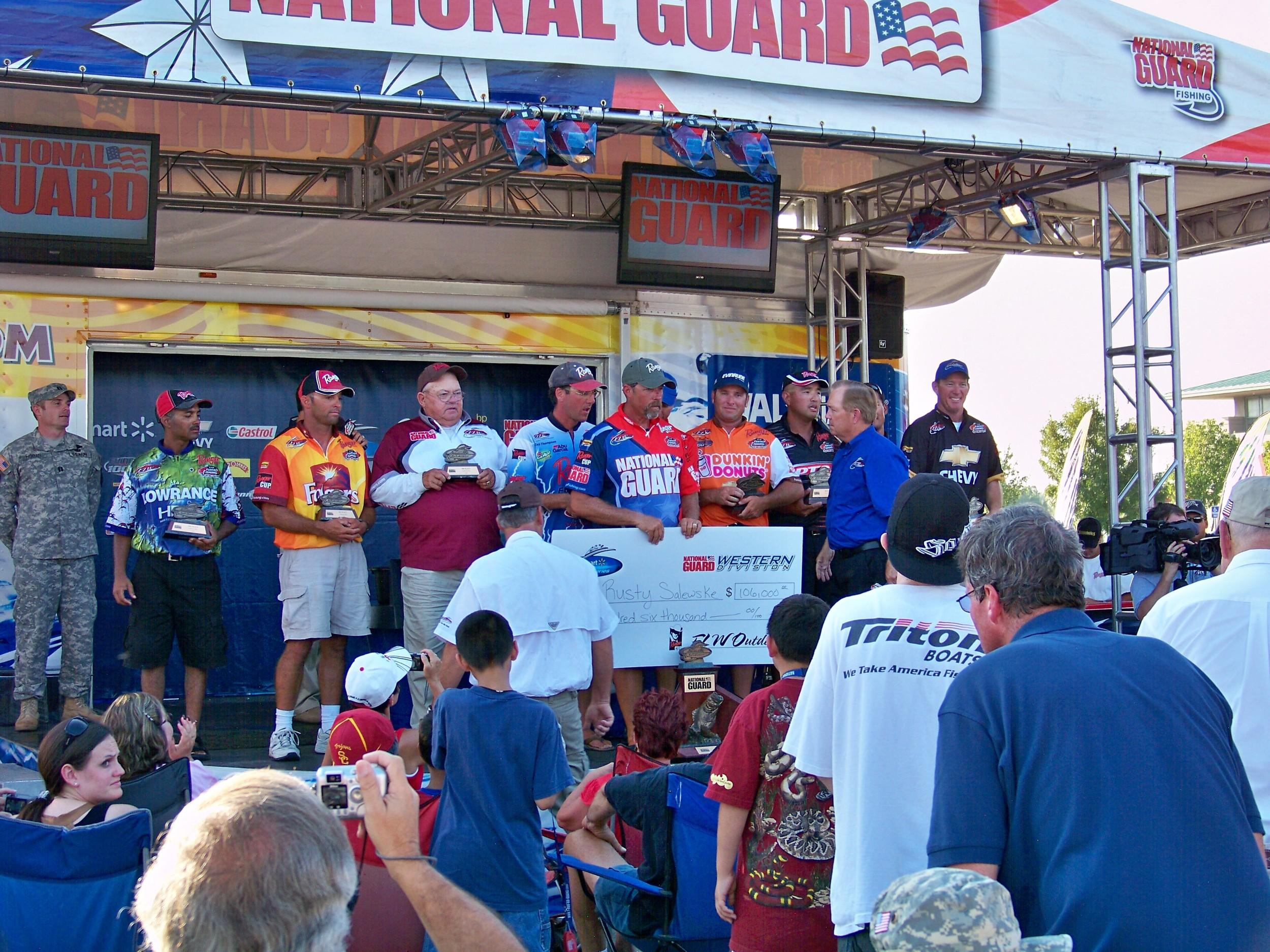 Top 10 Flw National Guard California Delta 9/09
