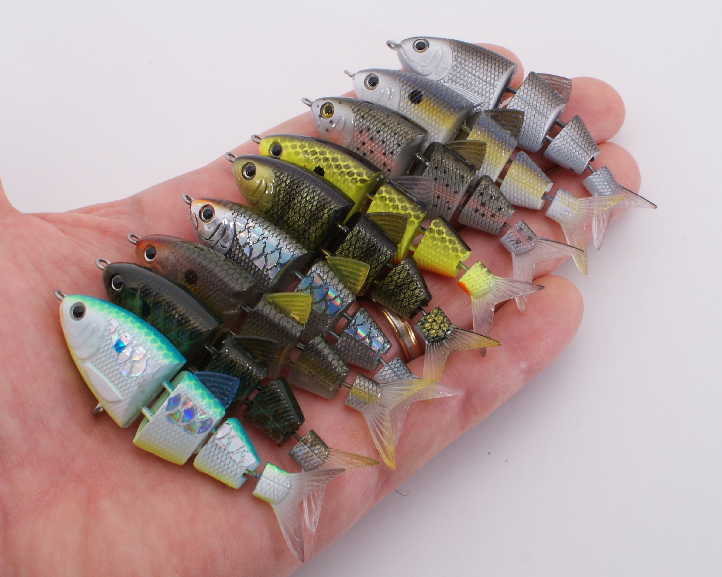 SPRO BBZ-1 Swimbaits are in the realm of Realism Baits