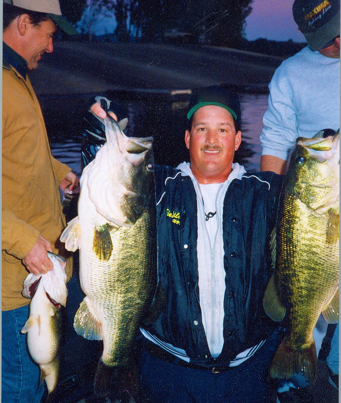 Siemantel with his 10 fish limit