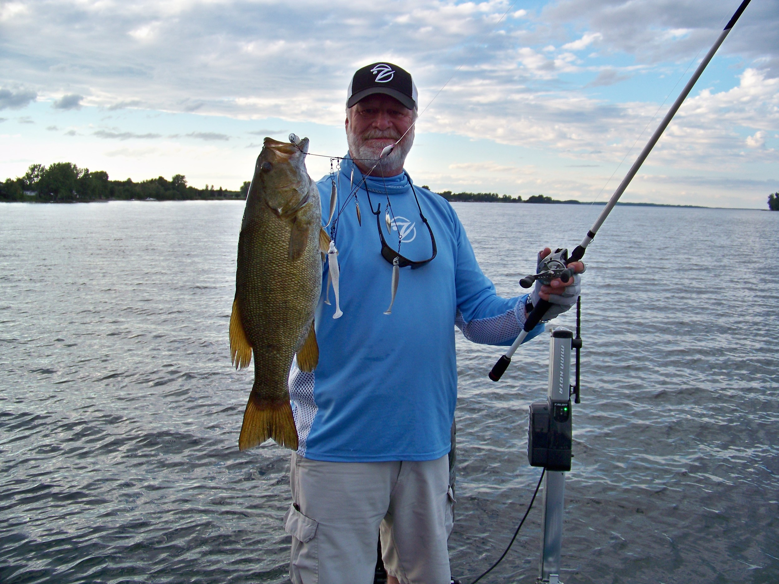 Did I mention the smallmouth fishing here is spectacular?
