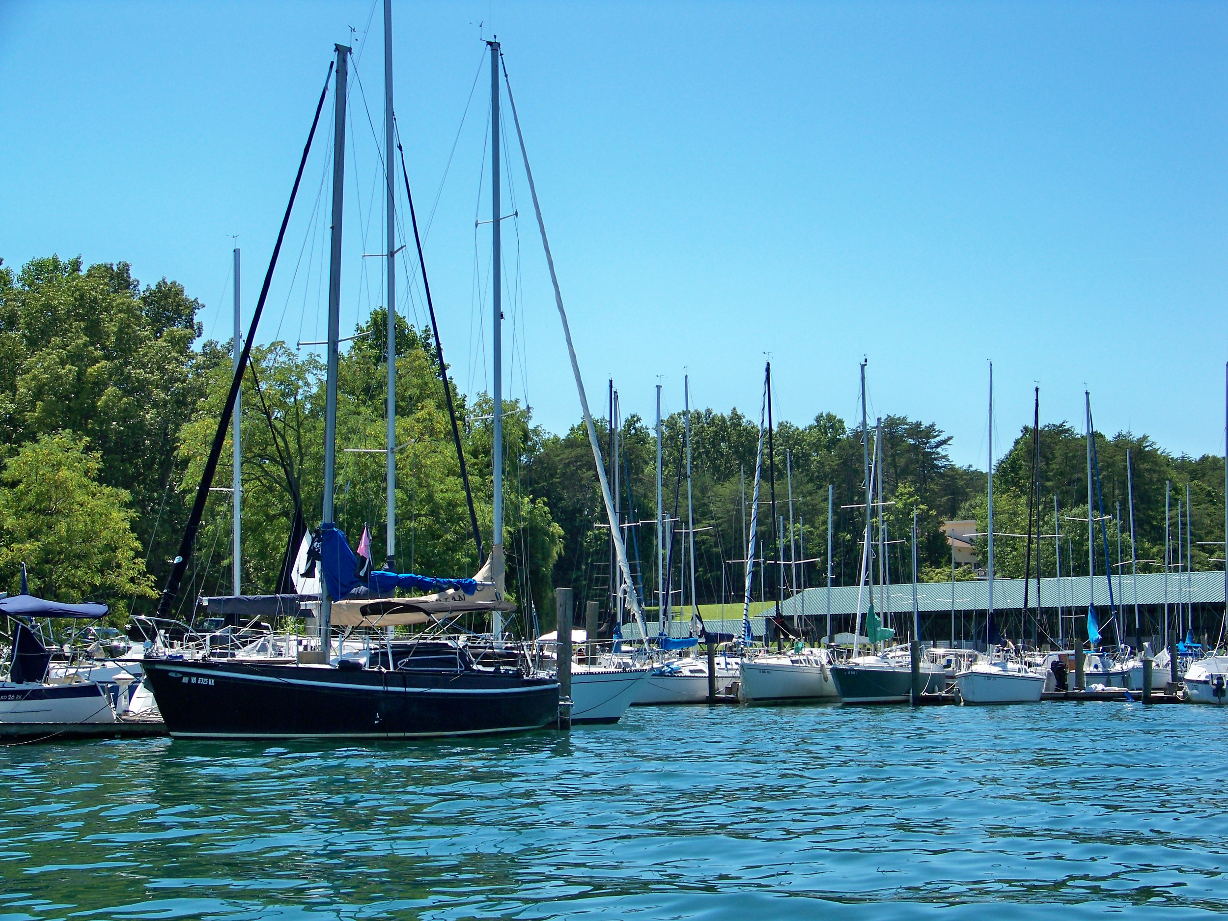 Sailing and all types of boating is popular at Smith Mountain.