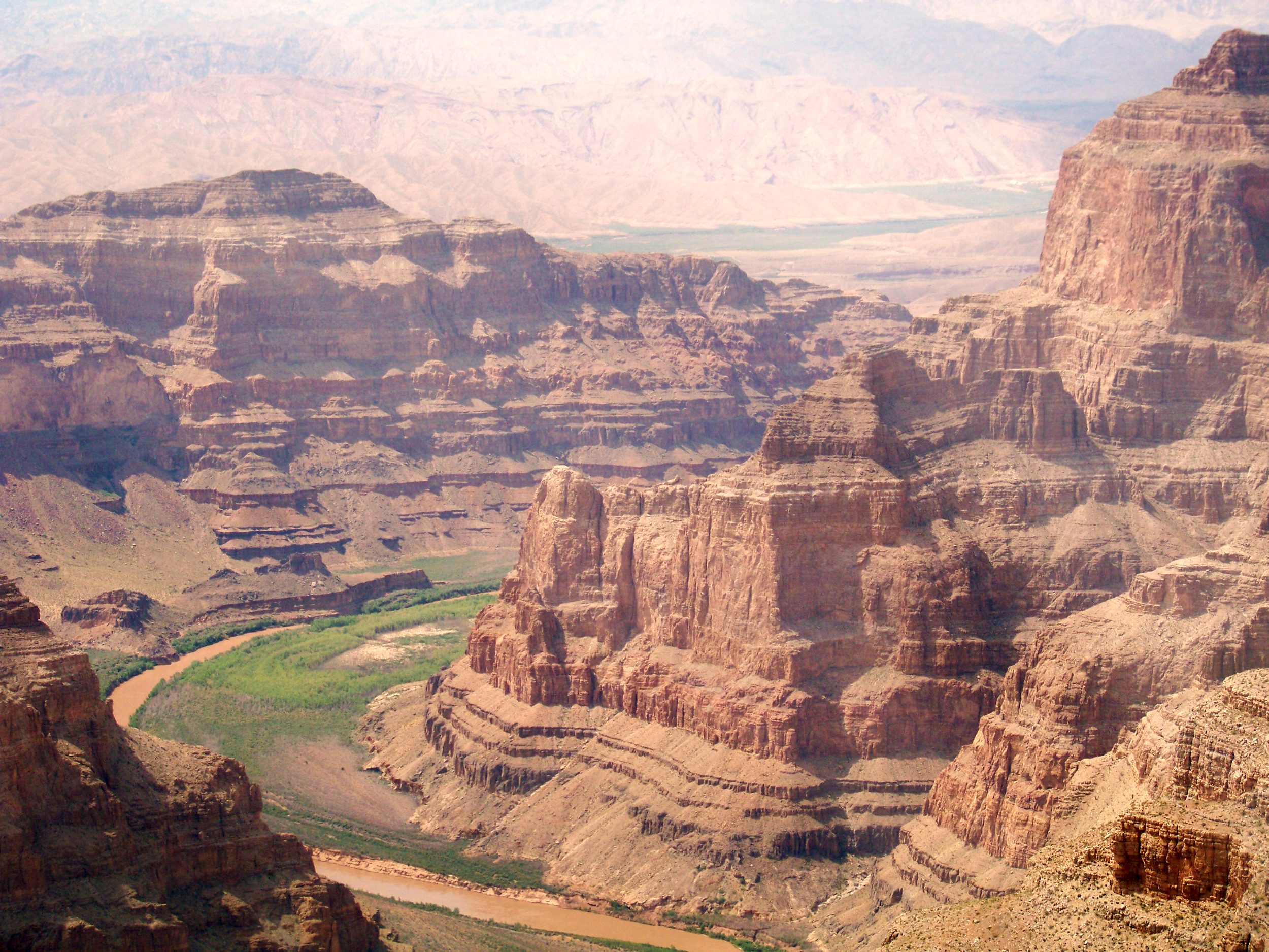 And the majestic Grand Canyon to the east.