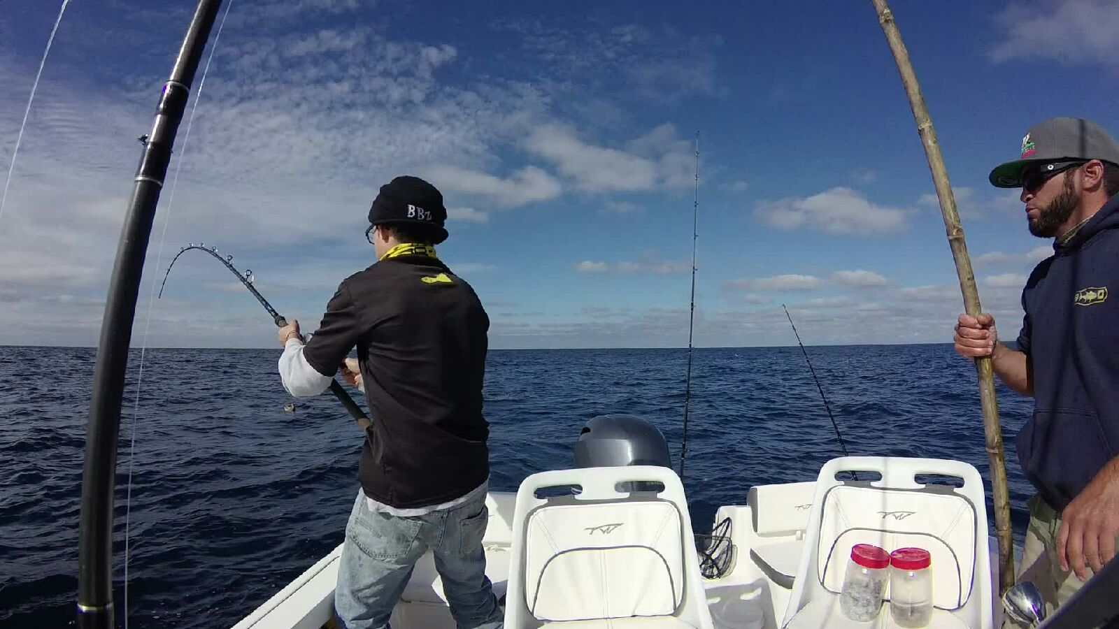 Stan hooked up with a YT @ 300' deep!