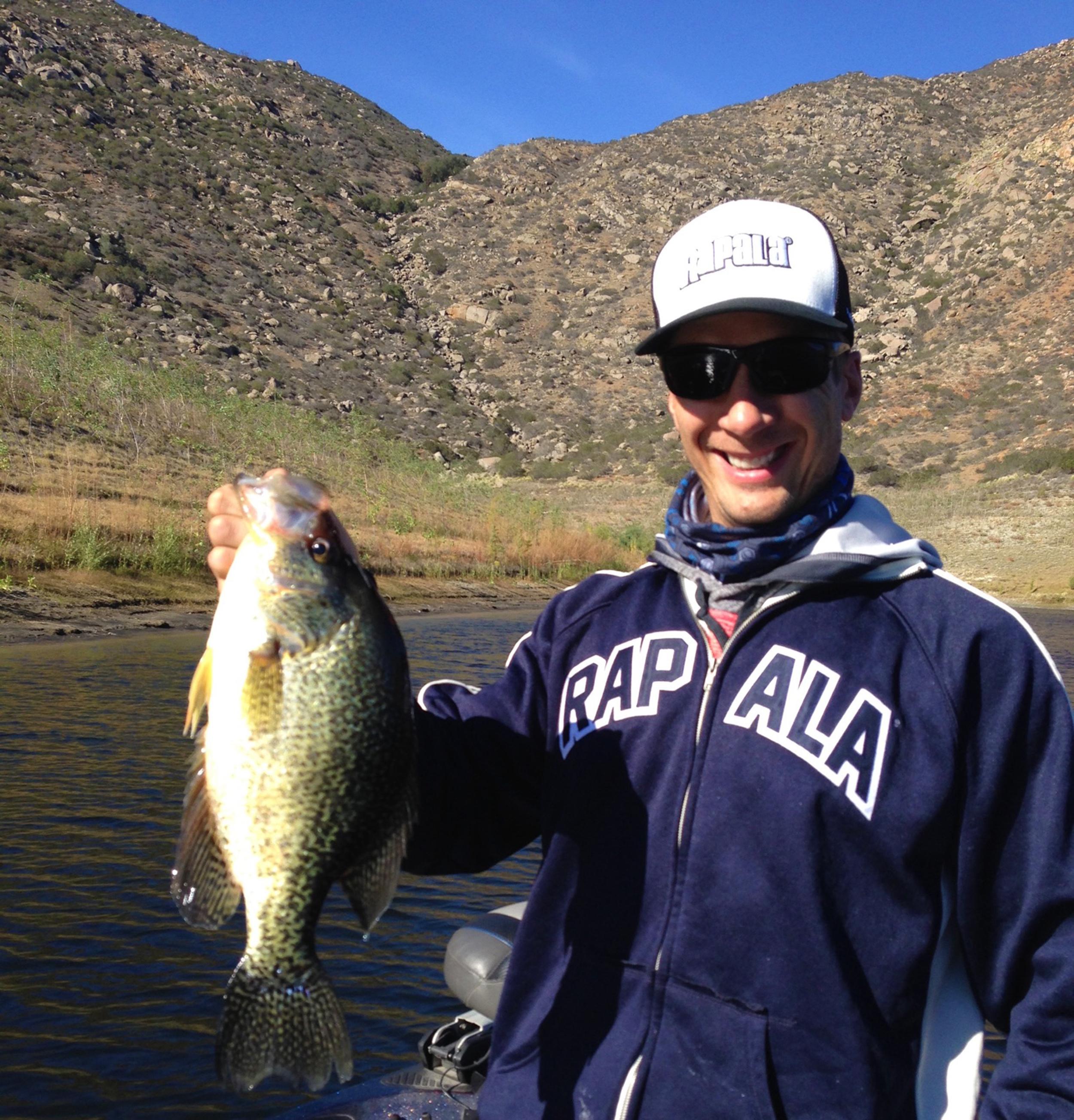 El Capitan Reservoir, California Crappie