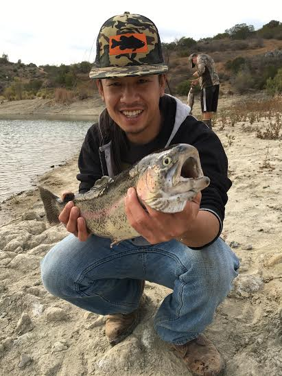 Mike Tran with a very nice 3.8 lber