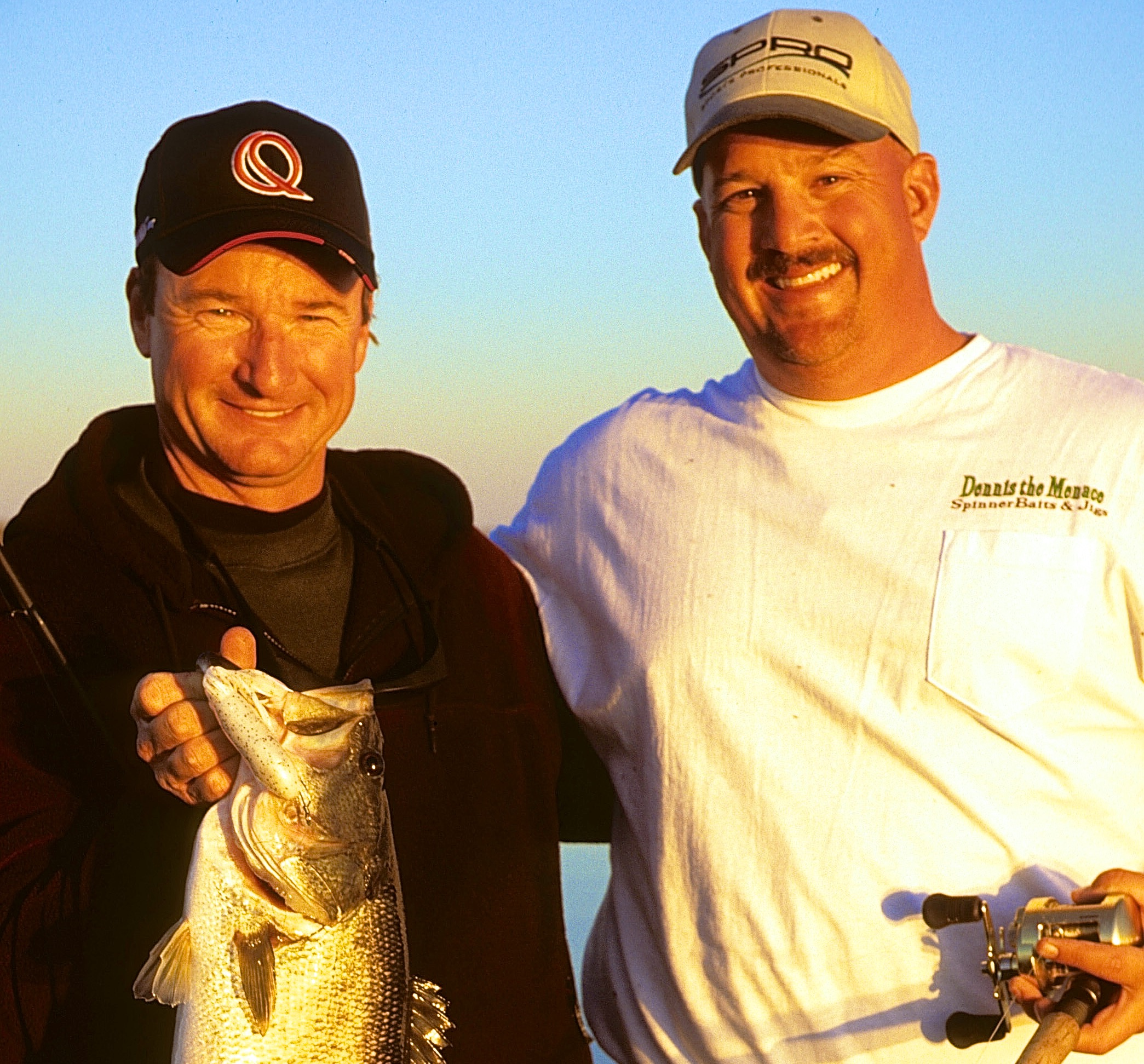 Gary and Bill Siemantel with a great catch and a wonderful day on the water