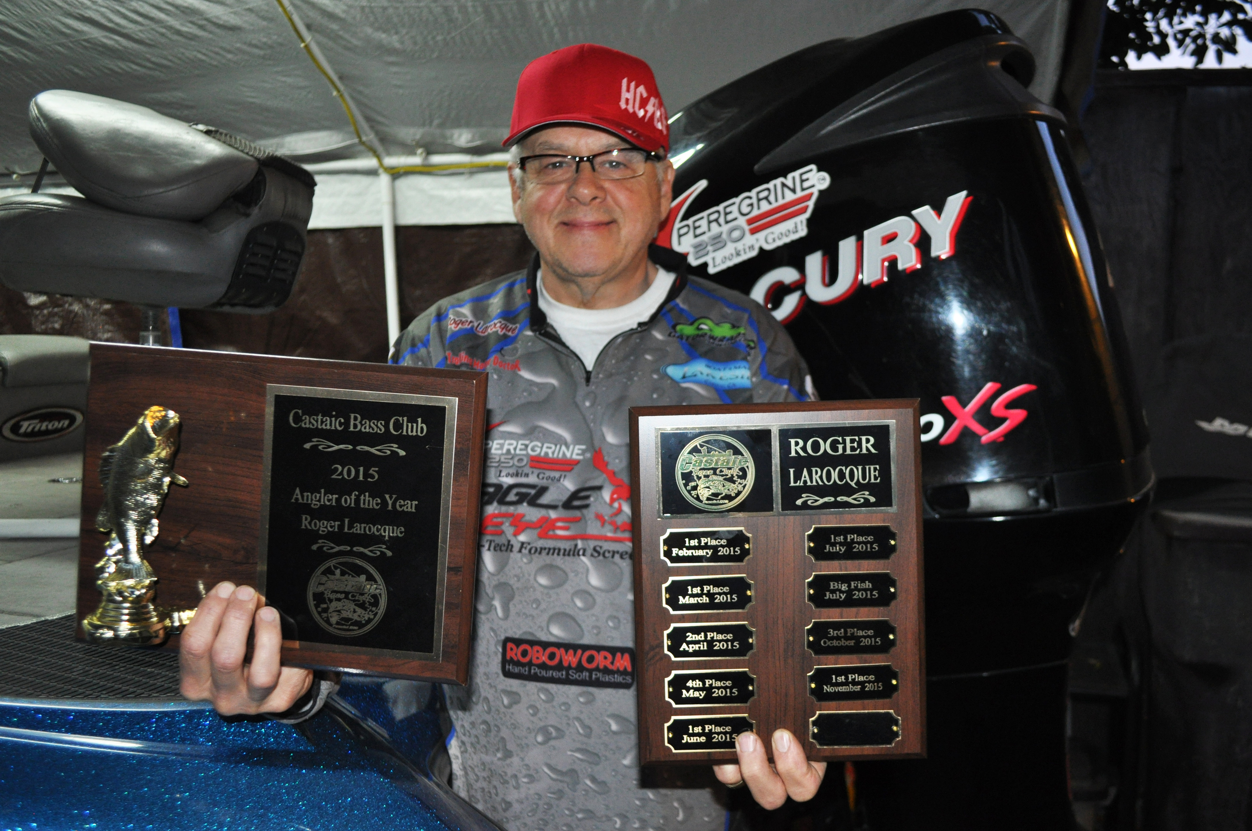 Castaic Bass Club 2015 Angler of the Year