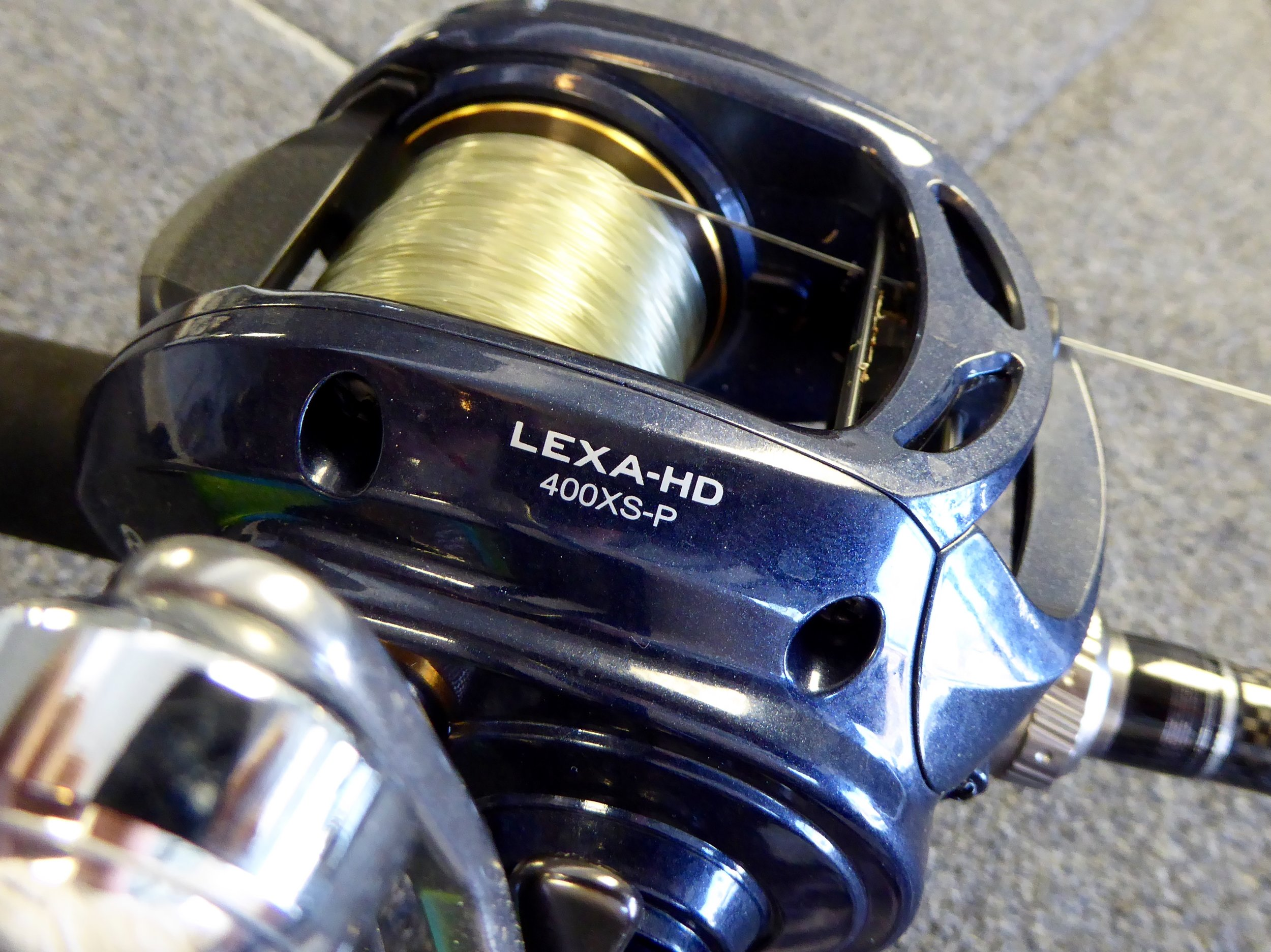 Daiwa LEXA-HD 400 Gear Ratios from 5.1:1 to 8.1:1. Pick Your Poison.