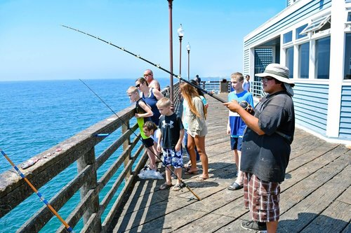 Recreational Fishing on California Public Piers No License Required