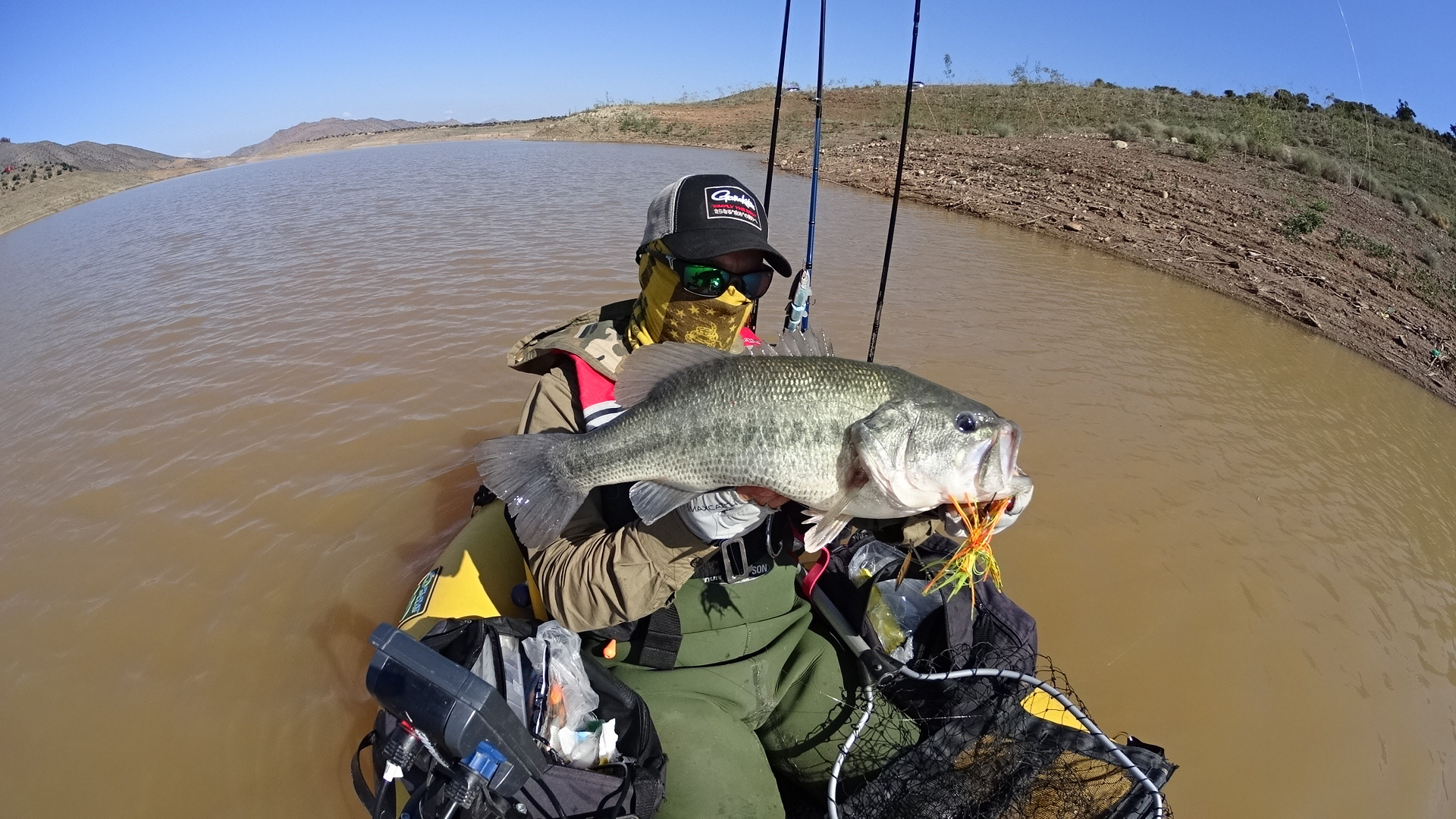 5.43 lb. another victim of a spinnerbait.