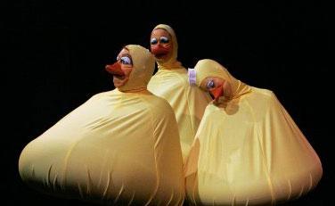Duck beaks