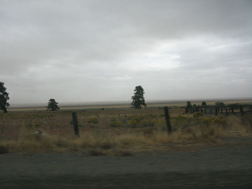 Along U.S. 395, California