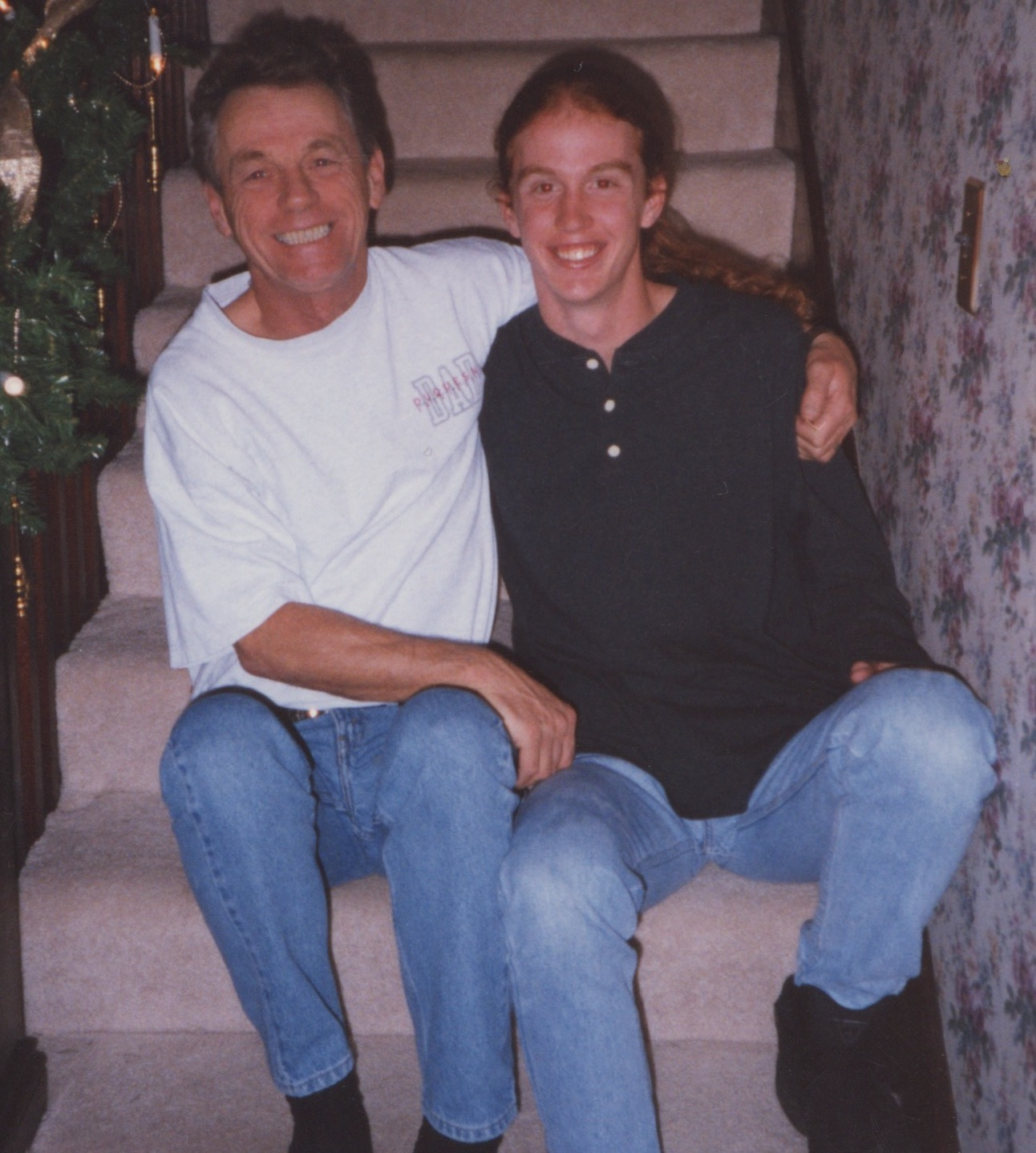 My Dad and I in 1995.