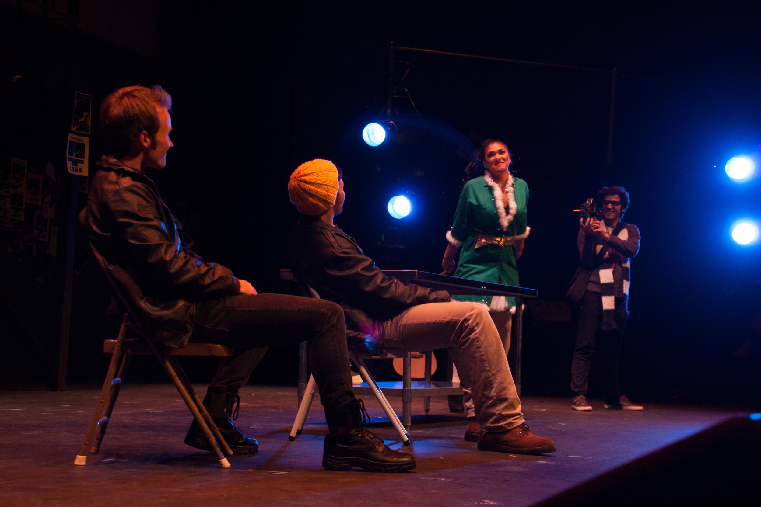 """Today 4 U"" (Sam Van Gorden, Jordan Solorio, Jeremy LaBoy, &Zach Kissinger)  Photo courtesy of Chris Higa."