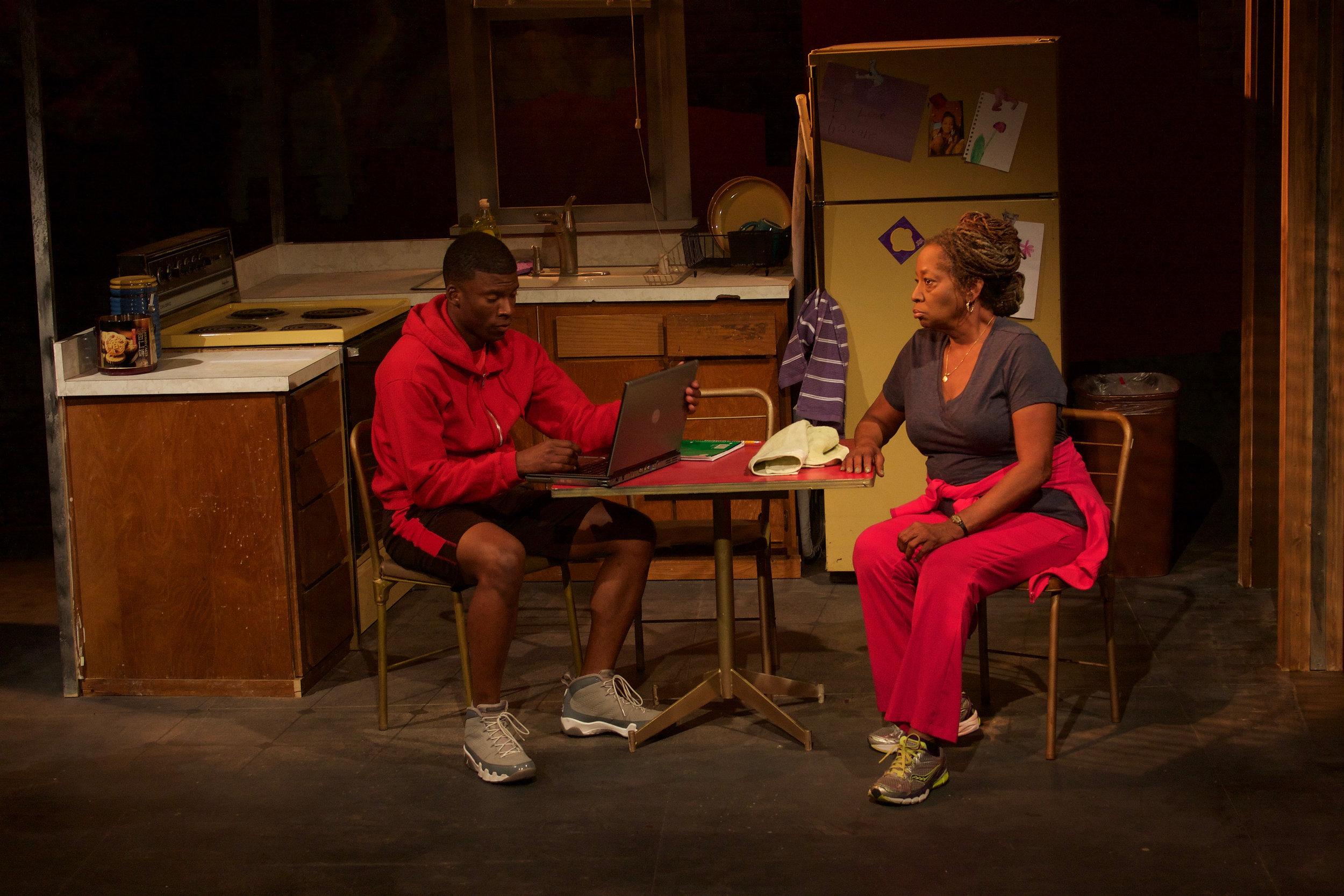 Tray (Cortez L. Johnson) & Lena (Sylvia M'Lafi Thompson)
