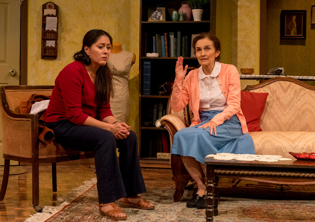 Carolina (Sandra Ruiz) & Josefina (Maria González)  Photo courtesy of Darren Scott