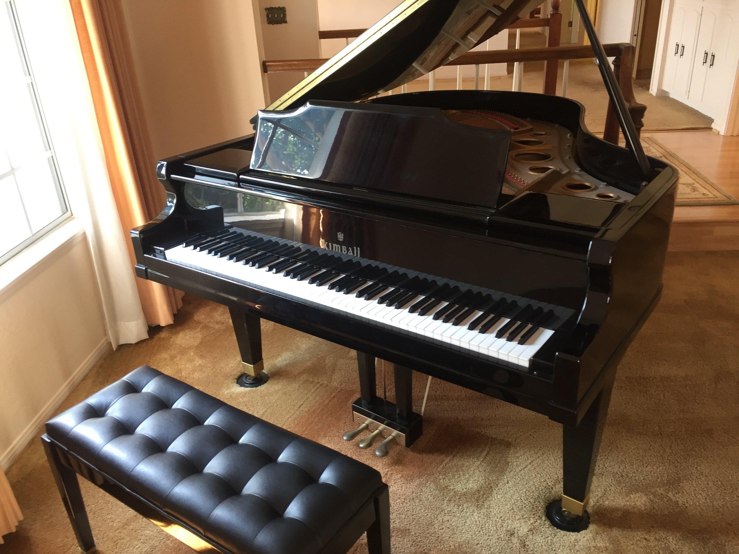 Kimball Grand Piano Donation