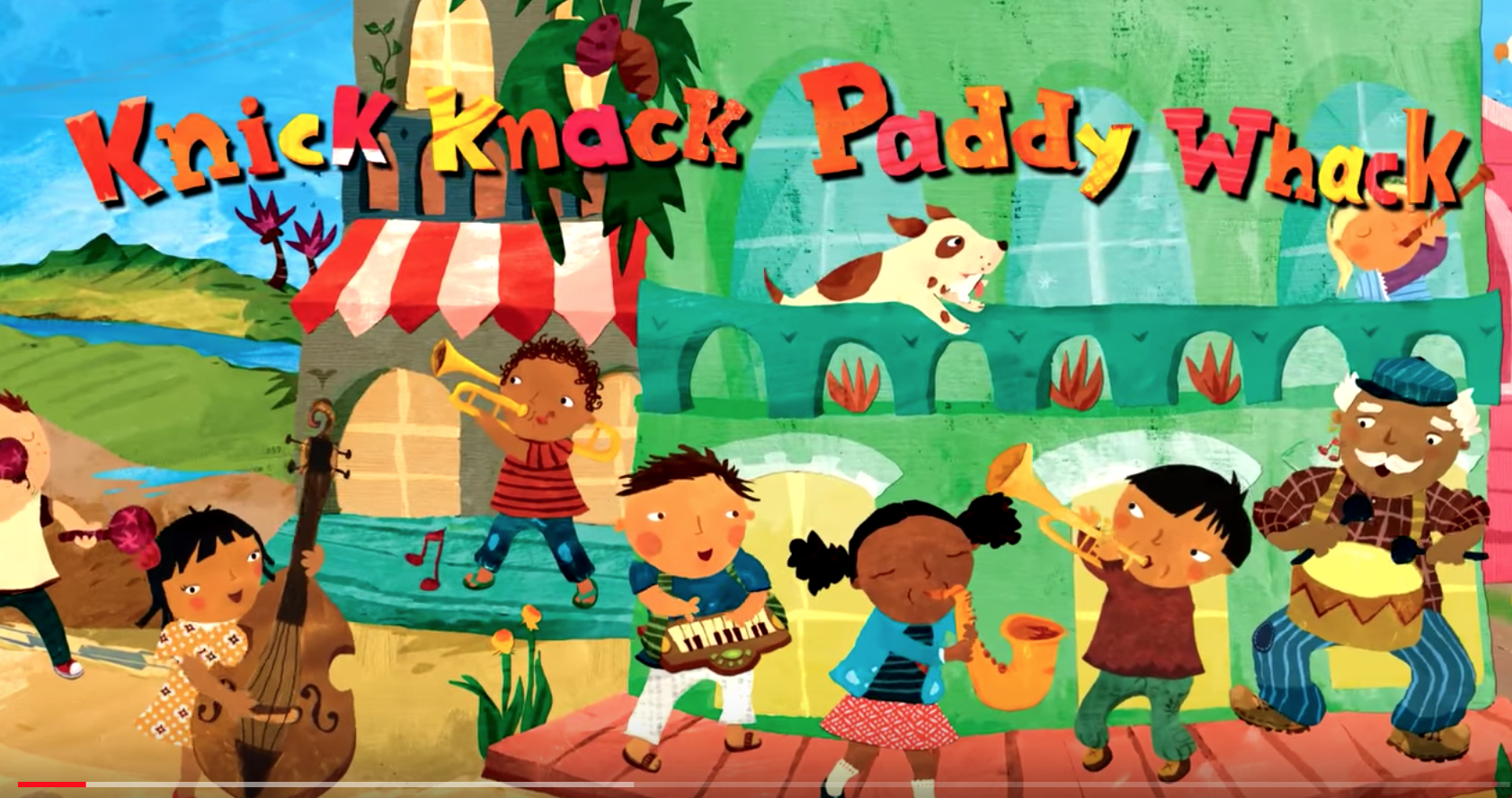 Knick Knack Paddy Whack Barefoot Books