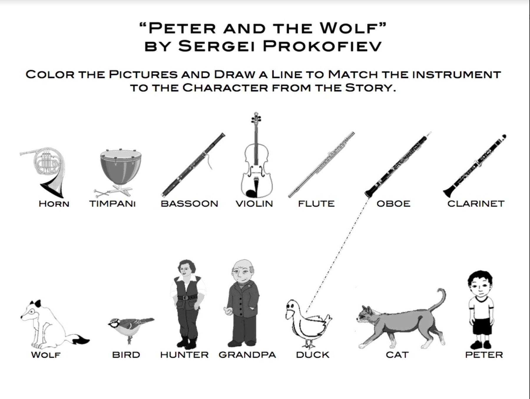 Peter and the Wolf Fun