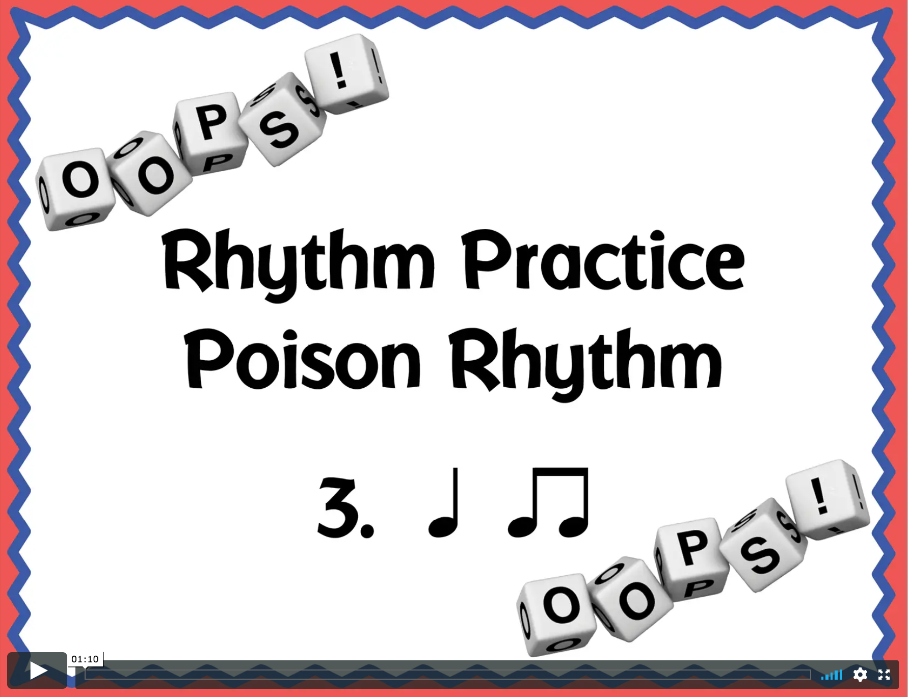 Rhythm Poison Game