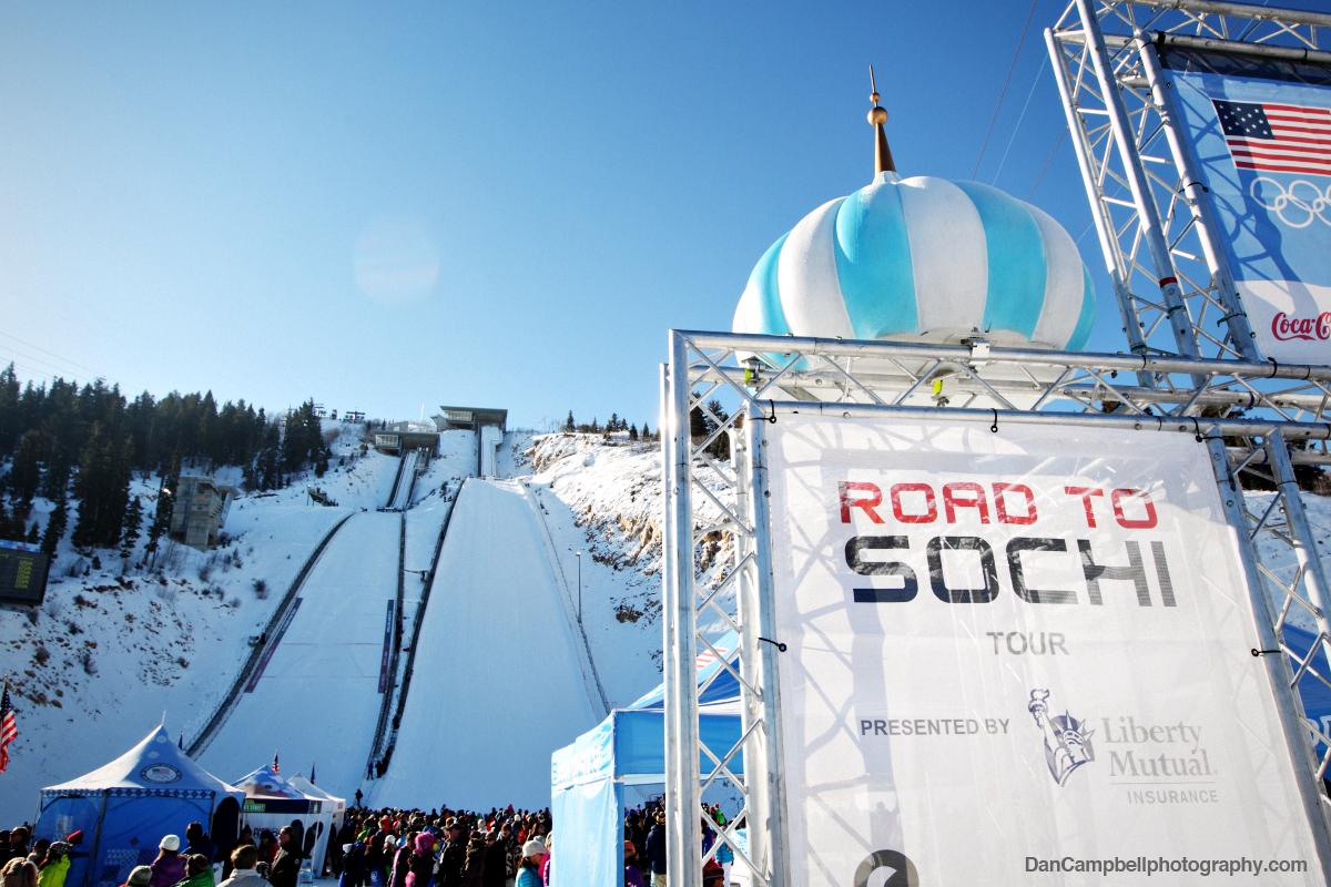 The Road To Sochi Interactive Fan Zone.