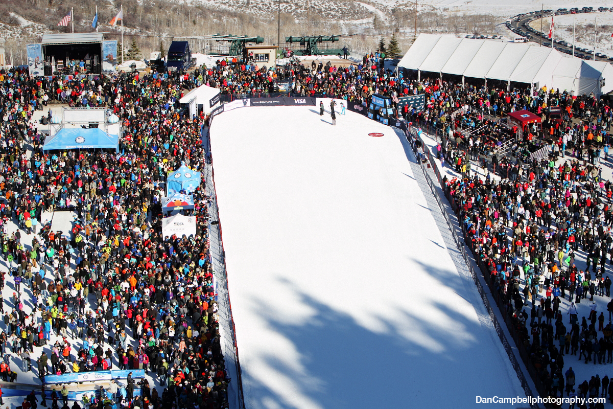 More than 5,000 attend the 2014 U.S. Olympic Team Trials at Utah Olympic Park.