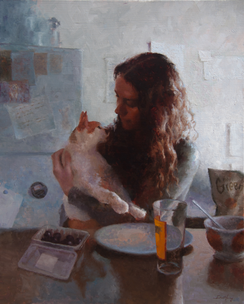 "'Brunch' Oil on Linen, 24"" x 30"""