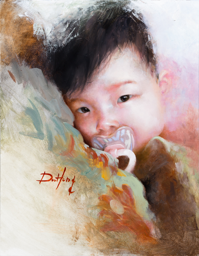 Baby Portrait #2 (sold)