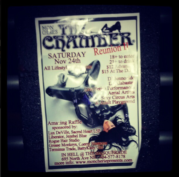 A behind the scenesInstagramfrom The Chamber Reunion.