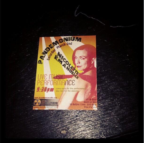 Pandemonium Flyer