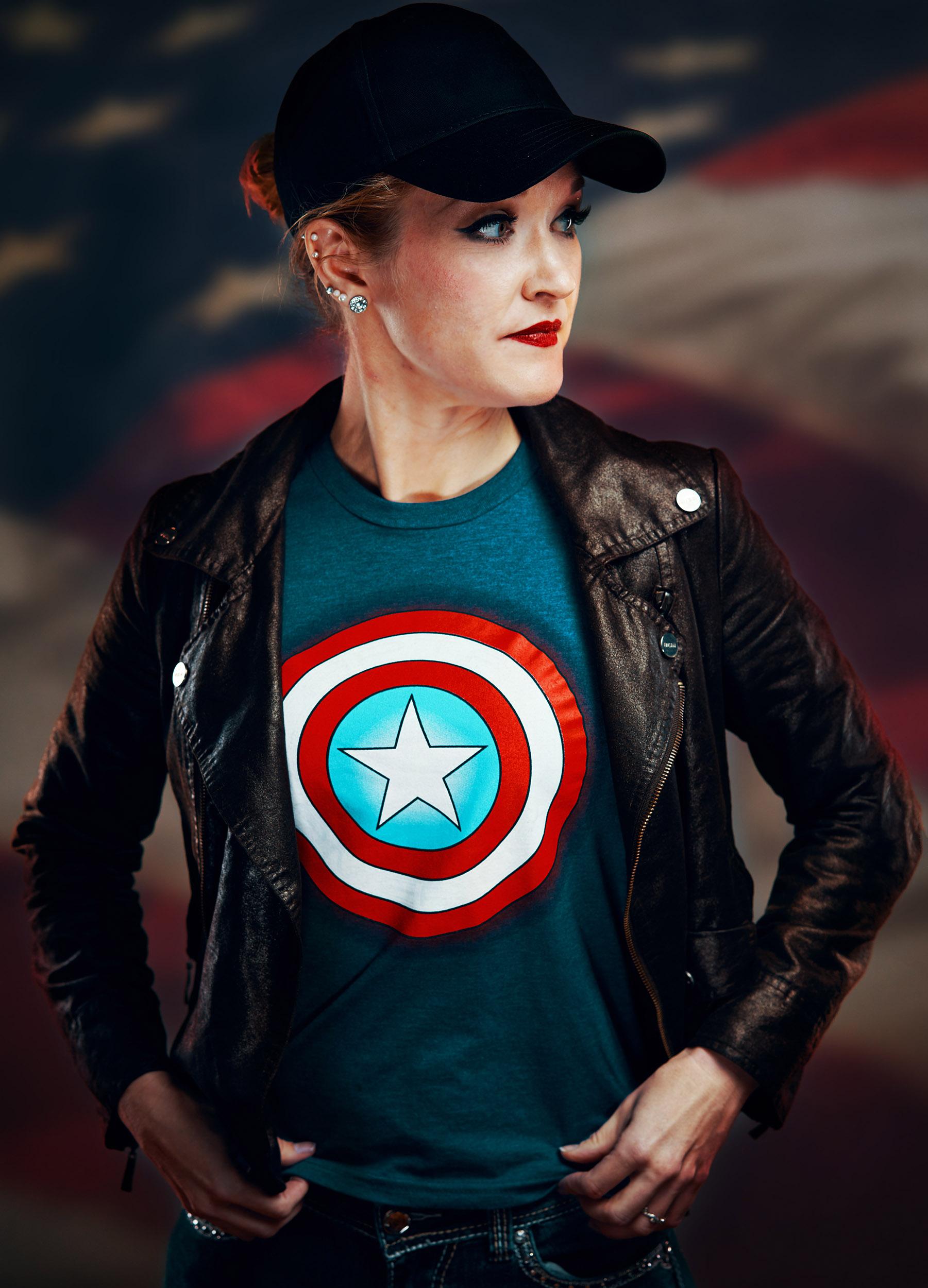 Désiré Èvoquer - Captain America