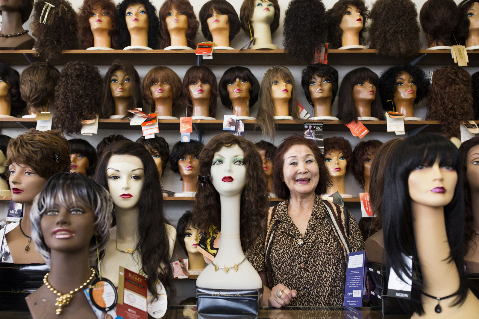 Soyoung Cobb, who has owned Downtown Wig Mart in Wilson for 45 years, says that wig sales are down 65 percent over the past four years.