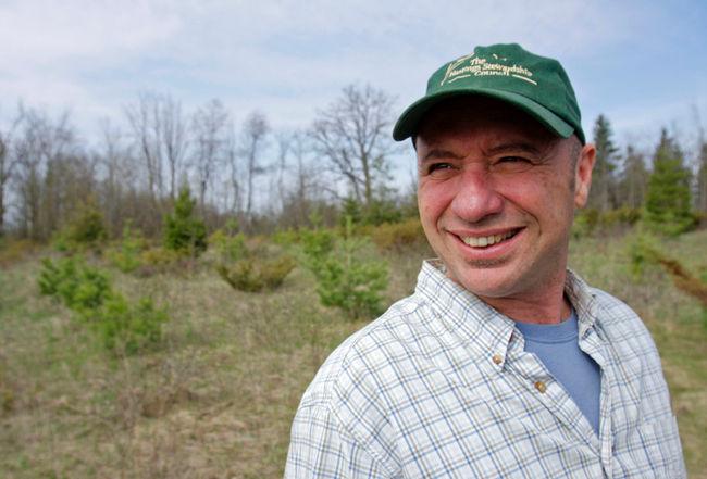 For Matt Caruana, preserving the environment isn't just a philosophy – it's his new job.