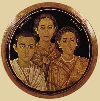 Placidia with Honoria and Valentinian
