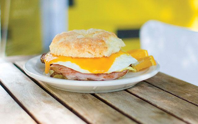the biscuit sandwich