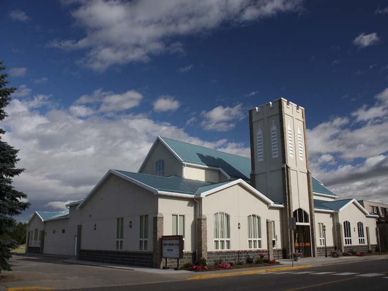 High River United Church,  AB