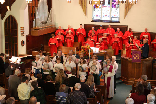 Mark Street United Church worship