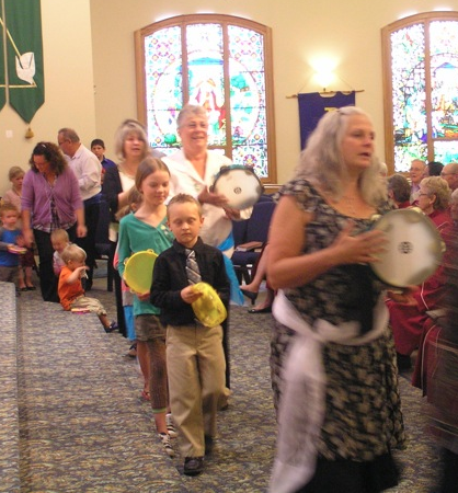 So, we're all off to church school ! Thanks High River, Bracebridge and Mark Street congregations!