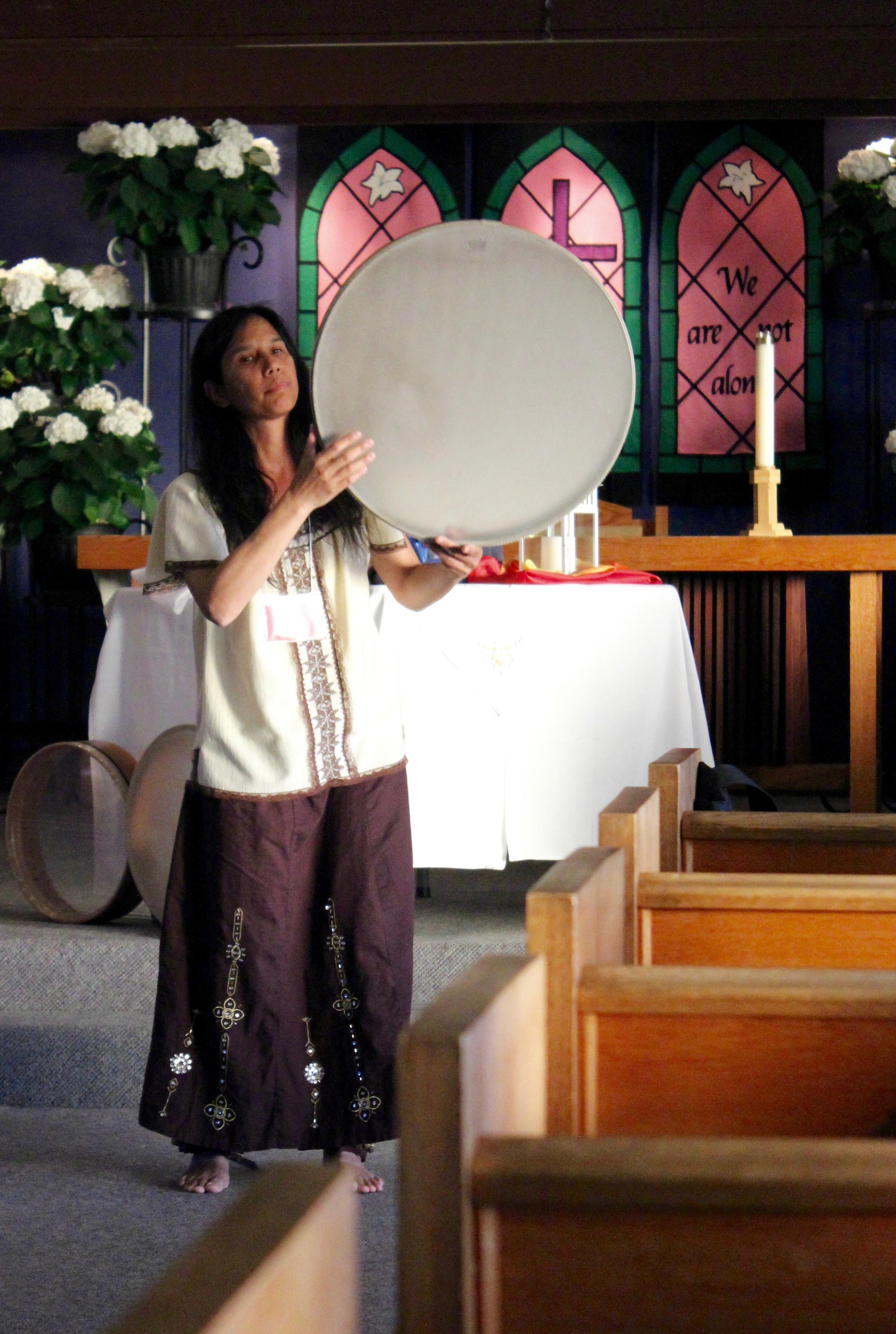 Miranda's Presentation: Call of the Drum